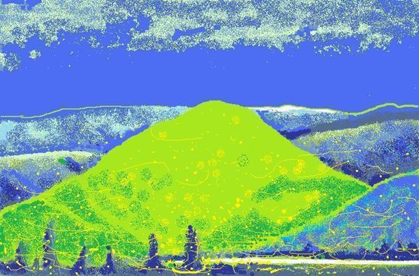 ホタルの山